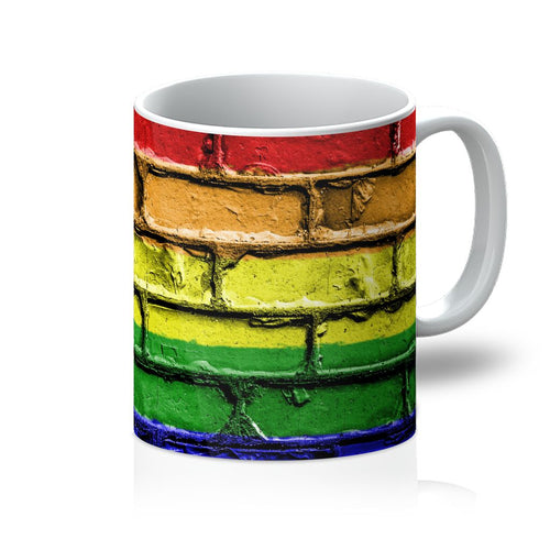 Colorful Lgbt Rainbow Flag Mug Homeware Flagdesignproducts.com