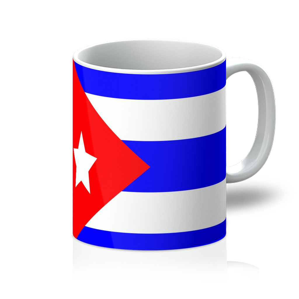 Flag Of Cuba Mug Homeware Flagdesignproducts.com
