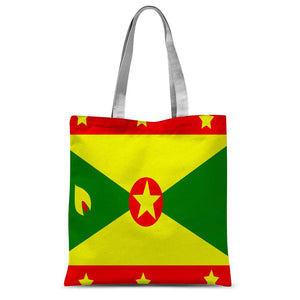 Flag Of Grenada Sublimation Tote Bag Accessories Flagdesignproducts.com