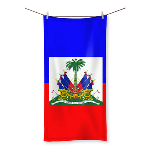 Flag Of Haiti Beach Towel Homeware Flagdesignproducts.com