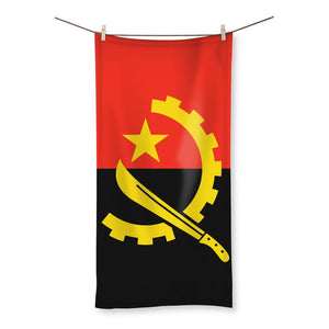 Angola Flag Beach Towel Homeware Flagdesignproducts.com