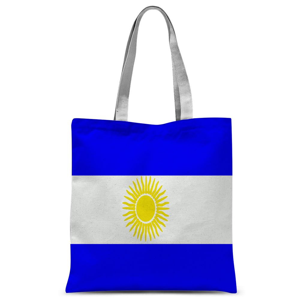 Flag Of Argentina Sublimation Tote Bag Accessories Flagdesignproducts.com