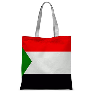 Flag Of Sudan Sublimation Tote Bag Accessories Flagdesignproducts.com