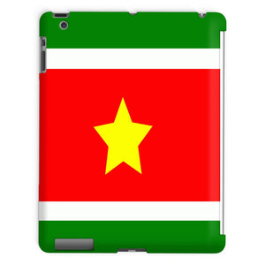 Flag Of Suriname Tablet Case Phone & Cases Flagdesignproducts.com