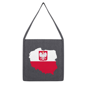 Poland Continent Flag Tote Bag Accessories Flagdesignproducts.com