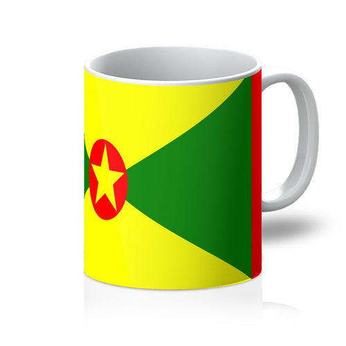 Flag Of Grenada Mug Homeware Flagdesignproducts.com