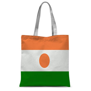 Flag Of Niger Sublimation Tote Bag Accessories Flagdesignproducts.com