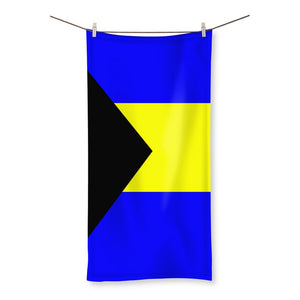 Flag of the Bahamas Beach Towel - FlagDesignProducts