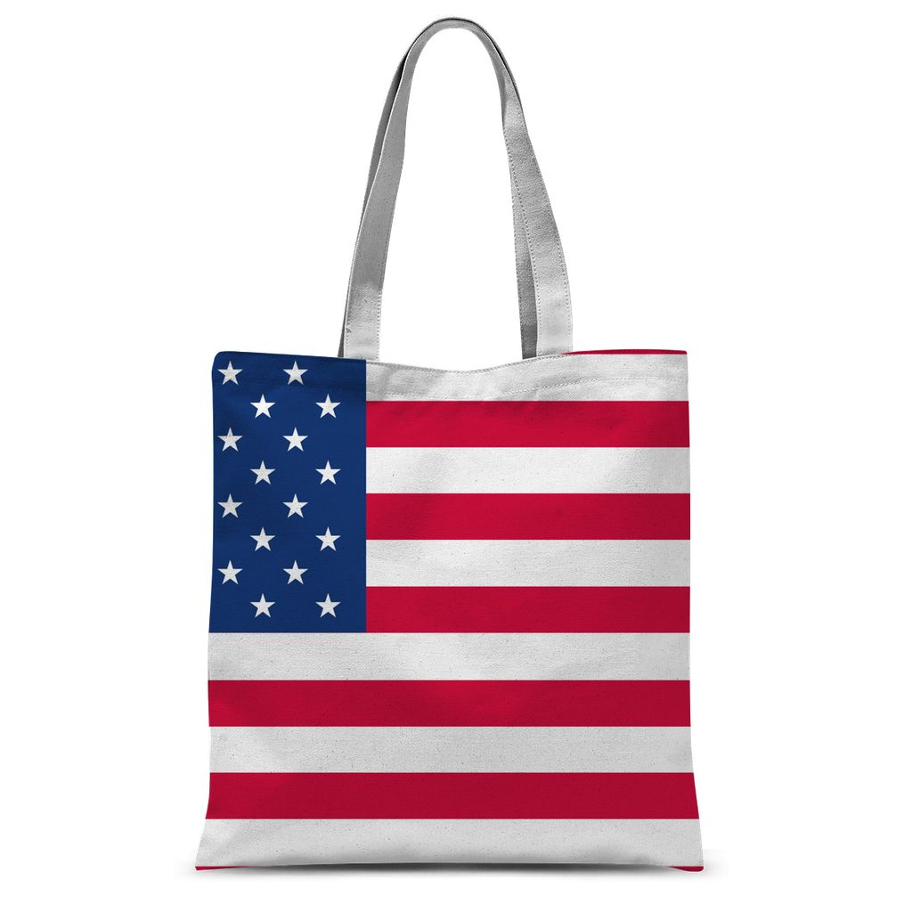 America Flag Sublimation Tote Bag Accessories Flagdesignproducts.com