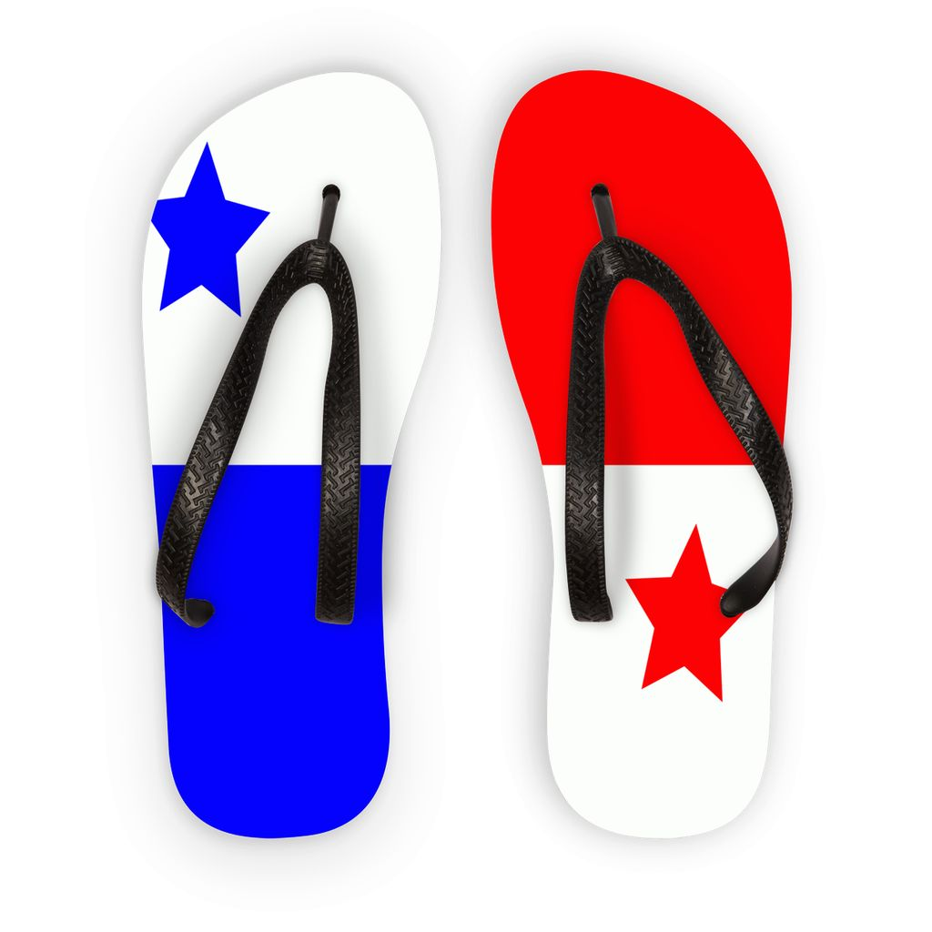 Flag Of Panama Flip Flops Accessories Flagdesignproducts.com