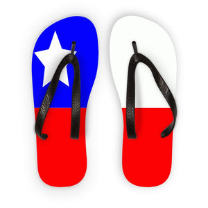 Flag Of Chile Flip Flops Accessories Flagdesignproducts.com