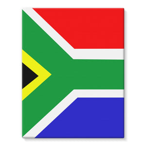 Flag Of South Africa Stretched Eco-Canvas Wall Decor Flagdesignproducts.com