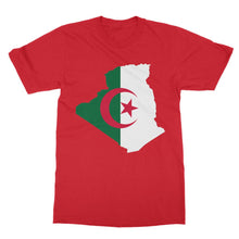 Algeria Continent Flag Softstyle Ringspun T-Shirt Apparel Flagdesignproducts.com
