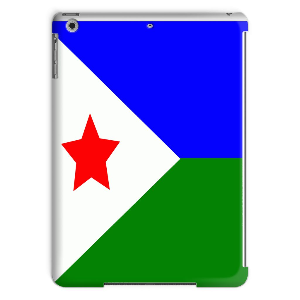 Flag Of Djibouti Tablet Case Phone & Cases Flagdesignproducts.com
