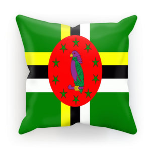 Flag Of Dominica Cushion Homeware Flagdesignproducts.com