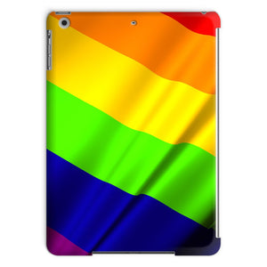 Waving Rainbow Lgbt Flag Tablet Case Phone & Cases Flagdesignproducts.com