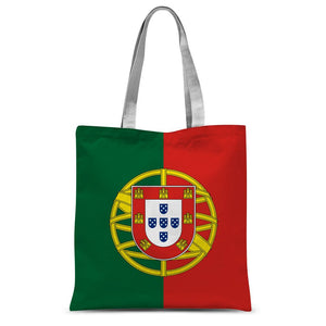 Basic Portugal Flag Sublimation Tote Bag Accessories Flagdesignproducts.com