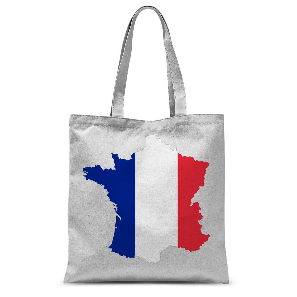 France Continent Flag Sublimation Tote Bag Accessories Flagdesignproducts.com