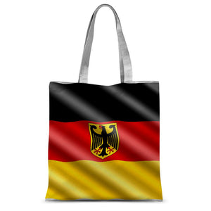 Waving Germany Flag Sublimation Tote Bag Accessories Flagdesignproducts.com