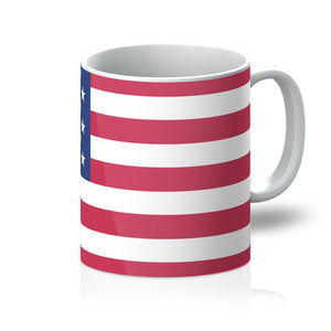 Basic Usa Flag Mug Homeware Flagdesignproducts.com