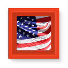 Waving America Usa Flag Magnet Frame Homeware Flagdesignproducts.com