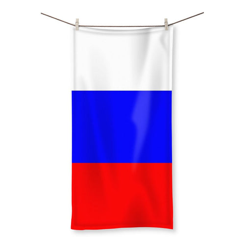 Basic Russian Flag Beach Towel Homeware Flagdesignproducts.com