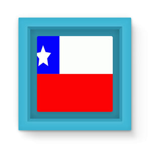 Flag Of Chile Magnet Frame Homeware Flagdesignproducts.com