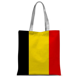Basic Belgium Flag Sublimation Tote Bag Accessories Flagdesignproducts.com