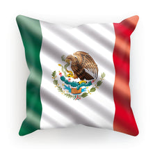 Waving Mexico Flag Cushion Homeware Flagdesignproducts.com