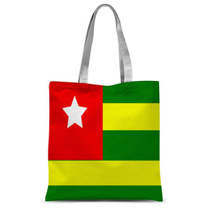 Flag Of Togo Sublimation Tote Bag Accessories Flagdesignproducts.com