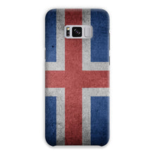 Grunge Iceland Flag Phone Case & Tablet Cases Flagdesignproducts.com