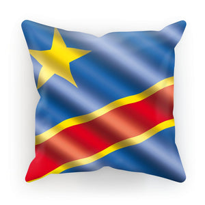 Democratic Rep Congo Flag Cushion Homeware Flagdesignproducts.com