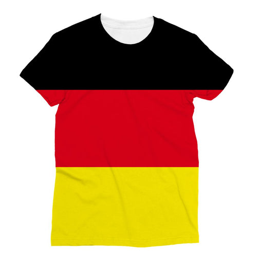 Deutsche Flagge Sublimation T-Shirt Apparel Flagdesignproducts.com