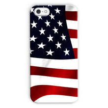 Waving Usa America Flag Phone Case & Tablet Cases Flagdesignproducts.com