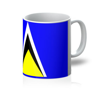 Flag Of Saint Lucia Mug Homeware Flagdesignproducts.com