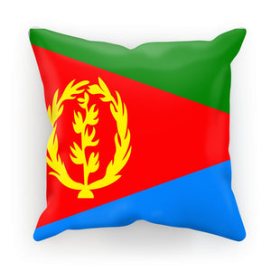 Flag Of Eritrea Cushion Homeware Flagdesignproducts.com