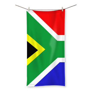 Flag Of South Africa Beach Towel Homeware Flagdesignproducts.com