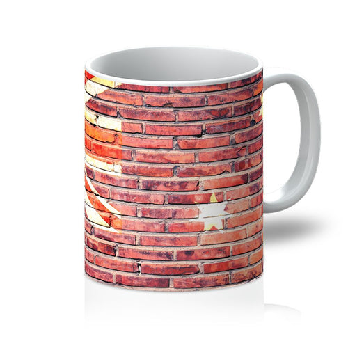 Australia Stone Brick Wall Mug Homeware Flagdesignproducts.com