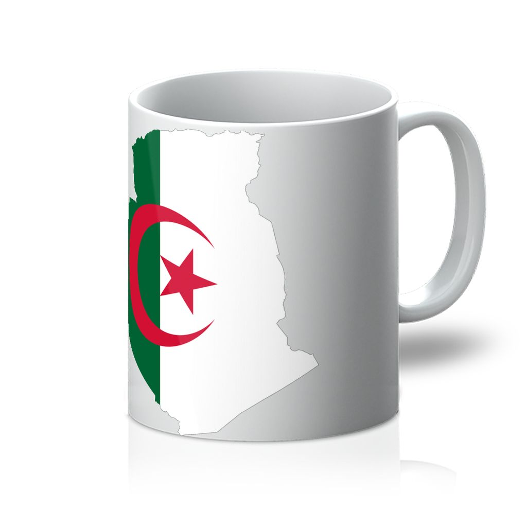 Algeria Continent Flag Mug Homeware Flagdesignproducts.com