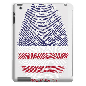 Usa Flag Finger Print Tablet Case Phone & Cases Flagdesignproducts.com