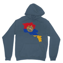Armenia Continent Flag Heavy Blend Hooded Sweatshirt Apparel Flagdesignproducts.com