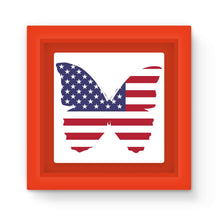 Usa Flag Butterfly Magnet Frame Homeware Flagdesignproducts.com