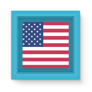 Basic Usa Flag Magnet Frame Homeware Flagdesignproducts.com
