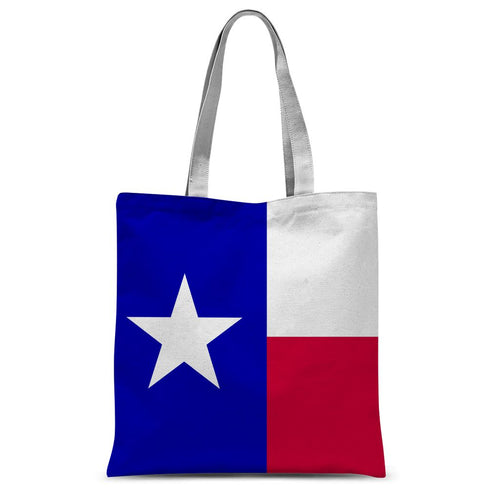 Basic Texas Flag Sublimation Tote Bag Accessories Flagdesignproducts.com