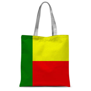 Flag Of Benin Sublimation Tote Bag Accessories Flagdesignproducts.com