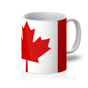 Basic Canada Flag Mug Homeware Flagdesignproducts.com