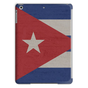 Cuba Stone Wall Flag Tablet Case Phone & Cases Flagdesignproducts.com