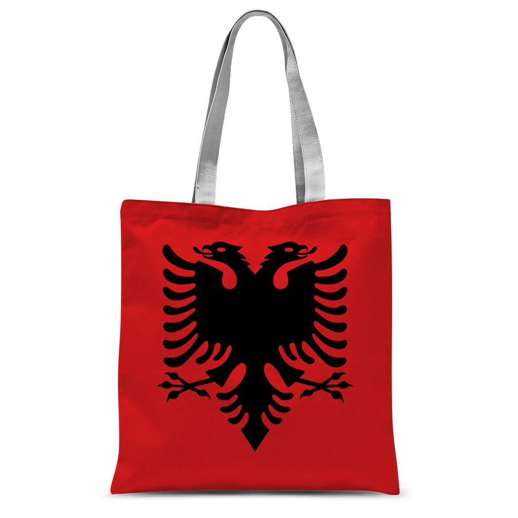 National Flag Of Albania Sublimation Tote Bag Accessories Flagdesignproducts.com