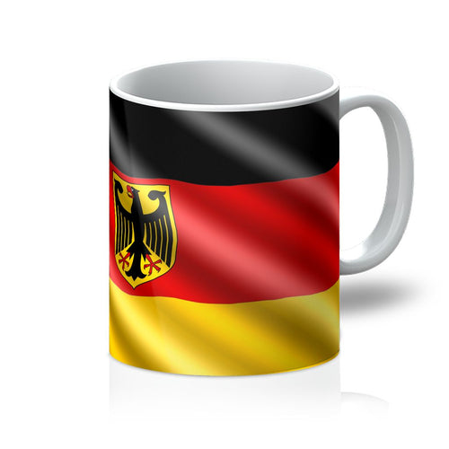 Waving Germany Flag Mug Homeware Flagdesignproducts.com