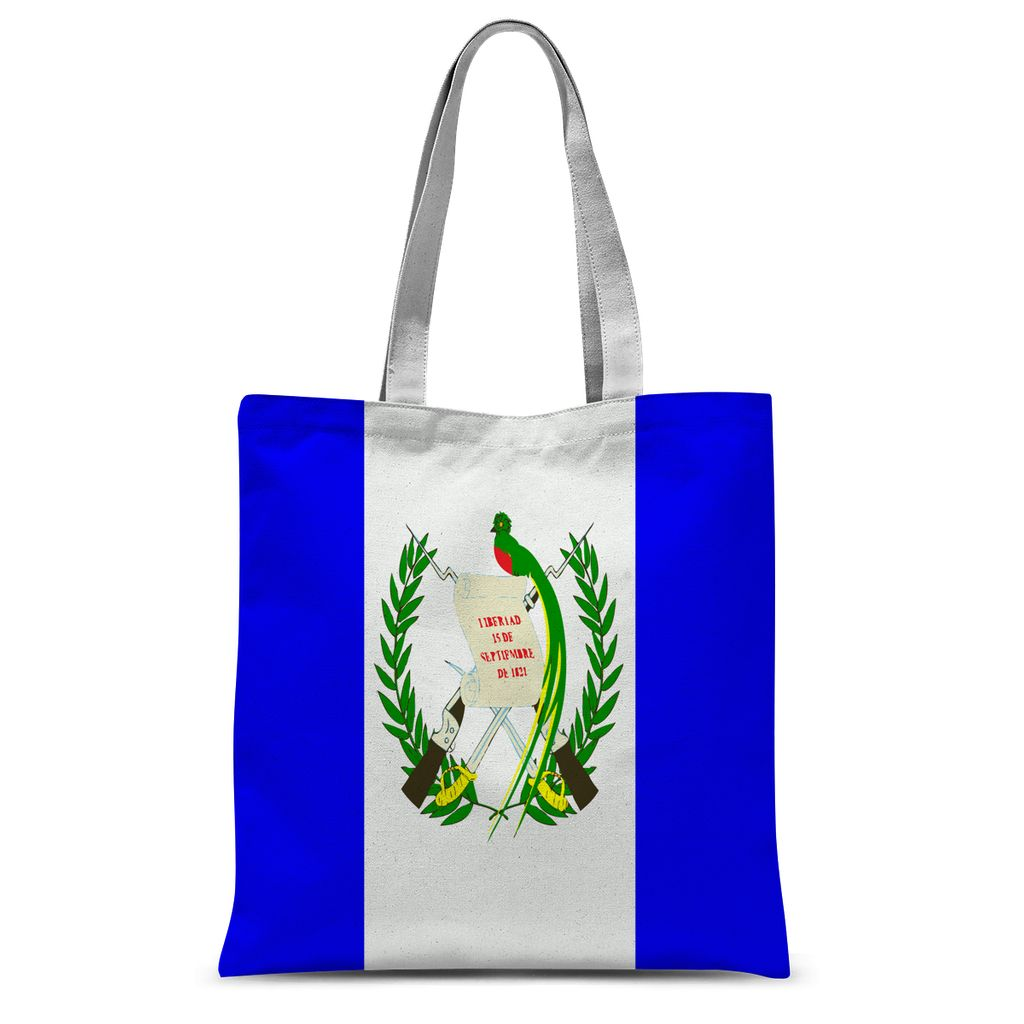 Flag Of Guatemala Sublimation Tote Bag Accessories Flagdesignproducts.com